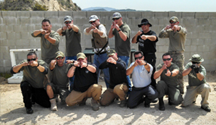 Combative Fighting Arts Firearms Group Pic