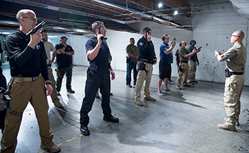 Combative Fighting Arts Firearms Range Instruction